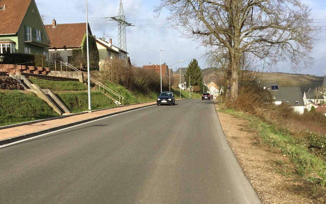 Restarbeiten B 48 Rheinstraße